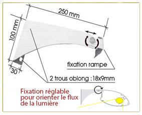 éclairage led 0.93 mètres équipé de tubes leds (prête à brancher)