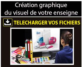 Création du visuel de votre enseigne