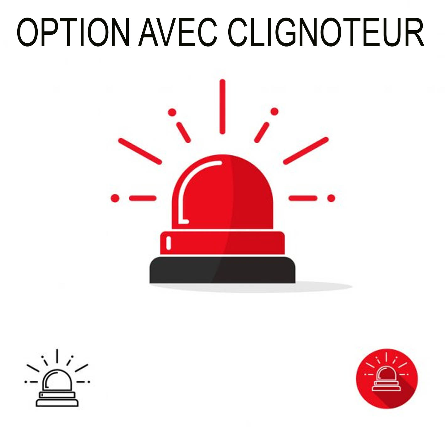 Option clignoteur led