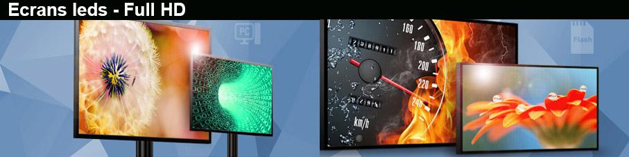 Les écrans leds multi-formats - Installation et pose sur toute la France