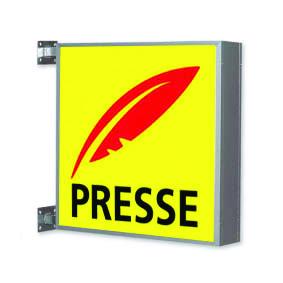 Enseigne presse