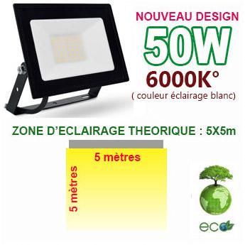 Projecteur led consommation 50W