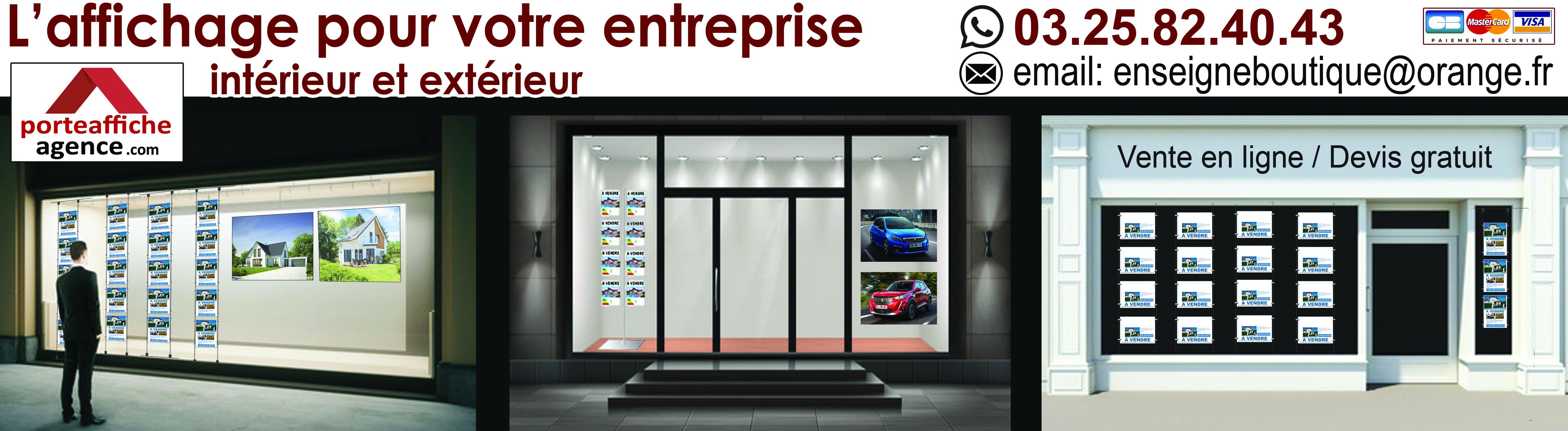 Découvrez notre site spécialisé dans l'affichage pour votre entreprise !